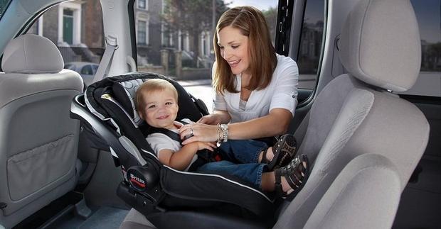 Come installare il seggiolino auto per bambini